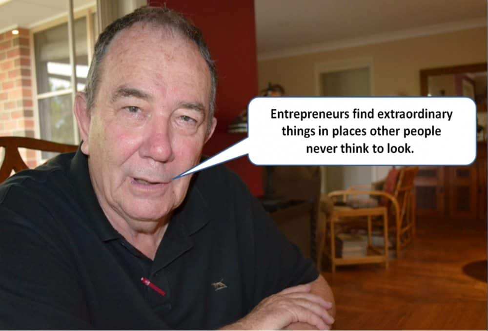Entrepreneurship is about some very special attributes.