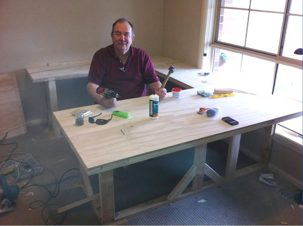 Take time to build a home office that you will enjoy.