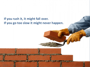 Small enterprise creates innovation.