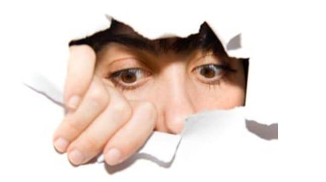 Hiding won't create a breakthrough.