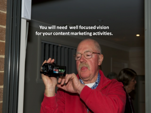 Content delivery must be relevant.