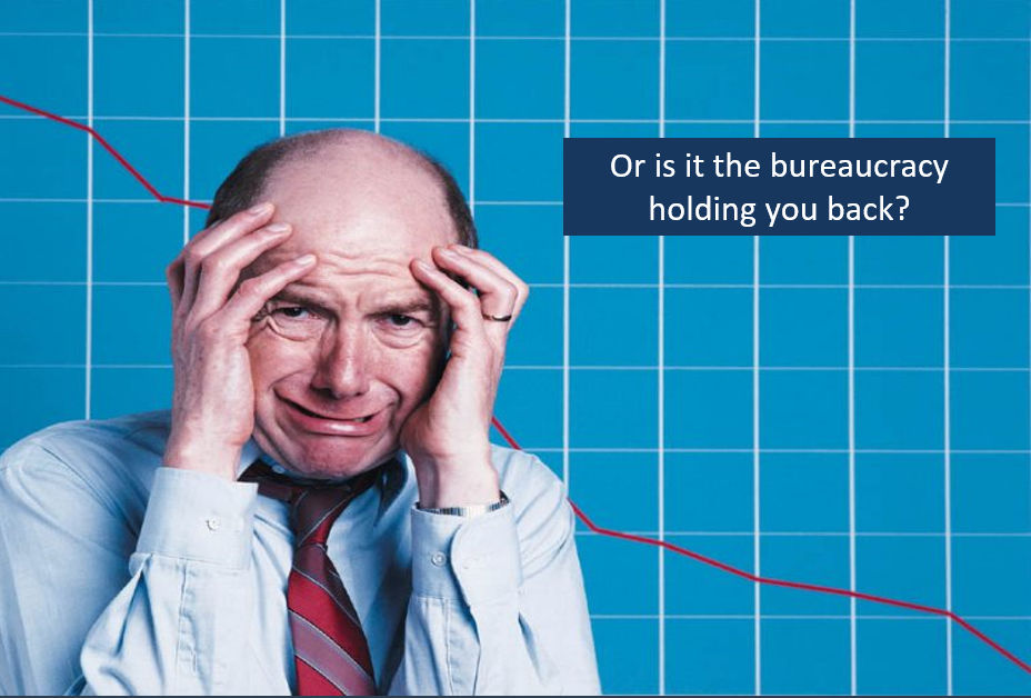 Is it bureaucracy causing you confusion