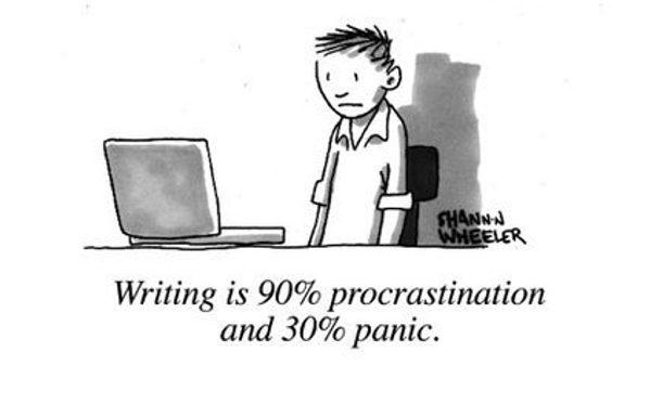 Writing causes people to lose focus on other critical issues in the business.