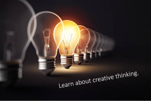 Creative writing skills help you to think right.