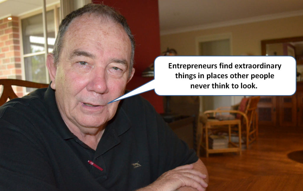 The entrepreneurial mix is critical in community development.