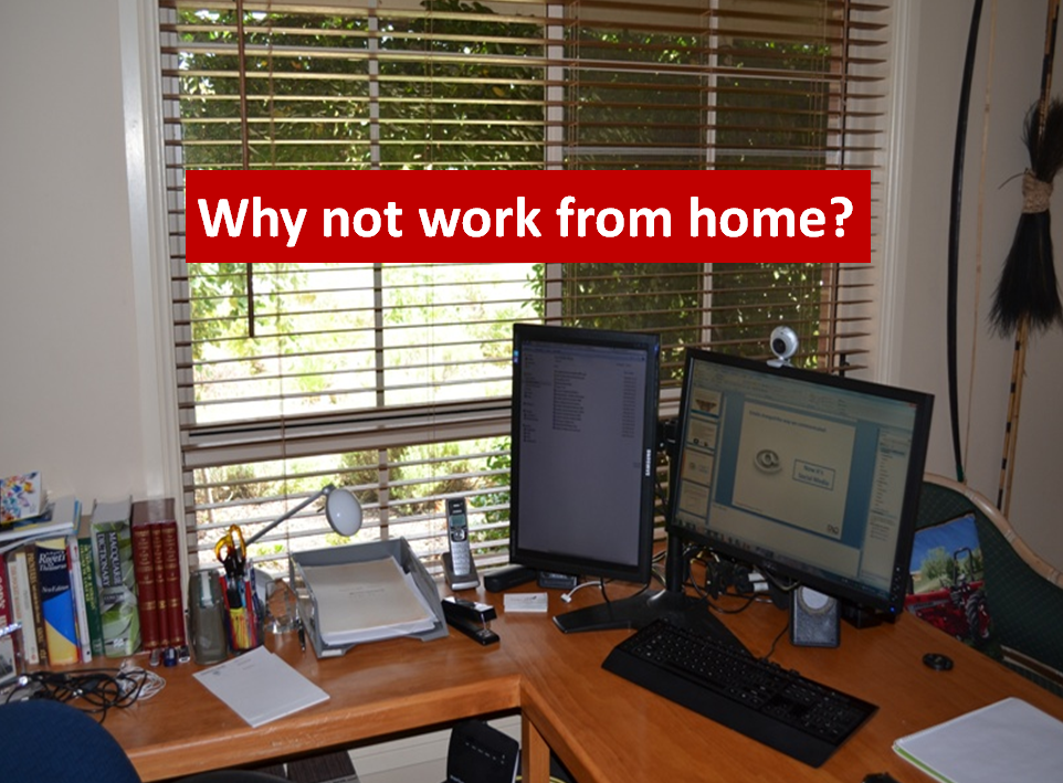 Capitalise on the home office.