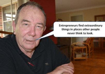 Entrepreneur's drought experience can be both good and bad.