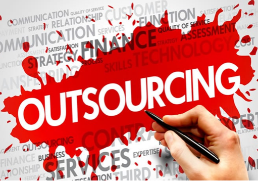 Bolder businesses use outsourcing.